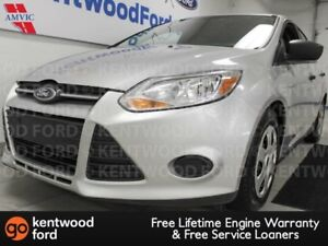 2012 Ford Focus S 5-SPD manual in snazzy silver? Heck ya