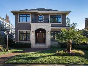 Luxury Vancouver West-Dunbar 5 Bedrooms 6 Bath House