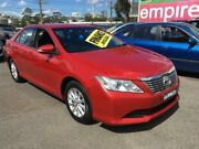 2012 Toyota Aurion GSV50R AT-X Red 6 Speed Sports Automatic Sedan Lidcombe Auburn Area Preview