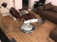 Barber Chair Barber Shop Interior Vintage Chair NEW