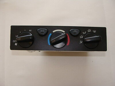01 02 03 04 Toyota Tacoma Heater A C Ac Climate Temp Dash Control Panel Hot Cold