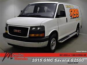 2015 GMC Savana 2500 1WT