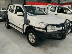 2014 Holden Colorado RG MY14 LX White Sports Automatic Cab Chassis Boolaroo Lake Macquarie Area Preview