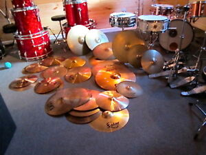 drums, cymbales hardware à liquider
