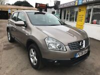 2008 Nissan Qashqai 1.6 Acenta 2WD 5dr, MANUAL, MINT CONDITION IN&OUT