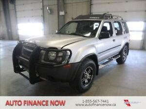 2004 Nissan Xterra 4dr 4WD V6 RARE FIND IN THIS SHAPE CLEAN