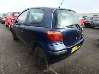2005 TOYOTA YARIS BREAKING FOR PARTS,THIS ADD ONLY FOR PASSANGER SIDE FRONT DOOR GLASS