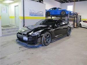 2009 Nissan GT-R R35 TOMMY KAIRA BODY KIT VOLK TE37 MAG BLUE