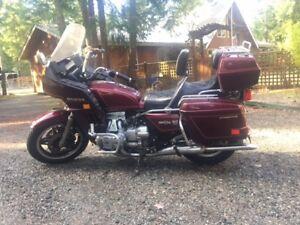 1982 Honda Goldwing 1100 motorcycle