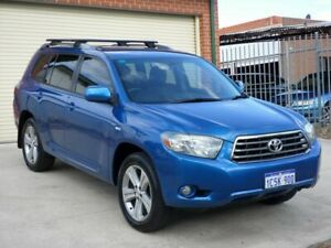2007 Toyota Kluger GSU45R KX-S AWD Blue 5 Speed Sports Automatic Wagon Mount Lawley Stirling Area Preview