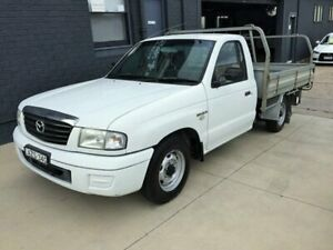 2006 Mazda B2500 MY05 Upgrade Bravo DX White 5 Speed Manual Cab Chassis Peakhurst Hurstville Area Preview