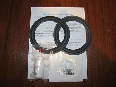 BOSE 301 woofers (all series) Speaker Foam Surround Repair Kit - Best Kit