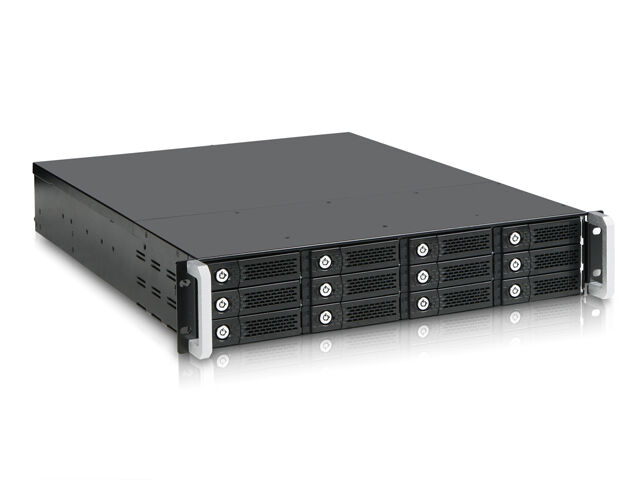 iStarUSA 2U 12-bay PCI-Express Rackmount Chassis Storage Server JBOD Enclosures