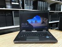 HP ProBook 6470b Core i5-3230M 2.6GHz 4GB Ram 250GB DVD-RW Webcam Win 10 Laptop