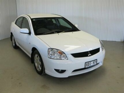 2007 Mitsubishi 380 DB Series II ES White 5 Speed Auto Sports Mode Sedan