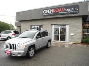 2008 Jeep Compass Sport * 4x4 * No Accidents * Great on Gas