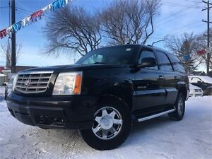 2004 Cadillac Escalade AWD = DVD - NAV - HEATED LEATHER SUNROOF