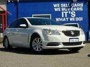 2013 Holden Commodore VF MY14 Evoke White 6 Speed Sports Automatic Sedan Welshpool Canning Area Preview