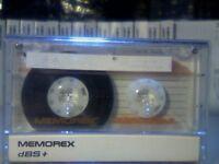 MEMOREX DBS+ 60 (1989-1990) CASSETTE TAPES.