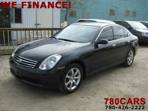 2006 Infiniti G35X - AWD - NEW TIRES - WE DO TRADES