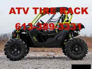 "Can-Am Maverick Turbo 3"" Lift  - ATV TIRE RACK - LOWEST PRICES"