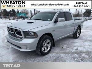 2018 Ram 1500 Sport   -Leather, Navigation, Heated&Cooled Seats