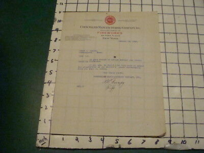 Original United States National Adjustment Co  For Rubber Stamps  Cool Letter