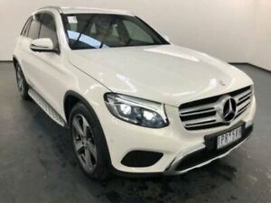 2016 Mercedes-Benz GLC220 X253 807MY D 9G-TRONIC 4MATIC Polar White Sports Automatic Wagon Sunshine North Brimbank Area Preview