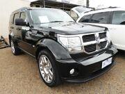 2011 Dodge Nitro KA MY11 SX Black 4 Speed Automatic Wagon Minchinbury Blacktown Area Preview