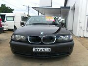 2003 BMW 325I E46 E46 Sedan 4dr Steptronic 5sp 2.5i Black 5 Speed Sports Automatic Sedan Lidcombe Auburn Area Preview