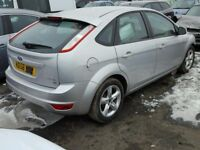 Ford Focus MK 4 Drivers Rear Door in Silver Hatchback Model 2008 - 2011 Ring for more info