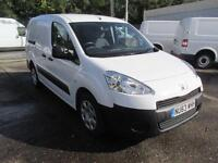 Peugeot Partner L2 716 S 1.6 Hdi 92PS Crew Van DIESEL MANUAL WHITE (2013)