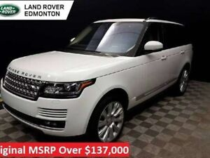 2017 Land Rover Range Rover Supercharged - Certified Pre-Owned w