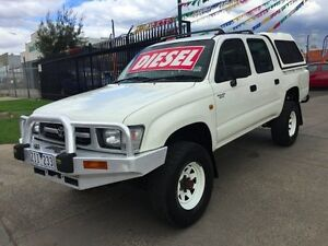 2001 Toyota Hilux LN167R (4x4) 5 Speed Manual 4x4 Dual Cab Pick-up Brooklyn Brimbank Area Preview