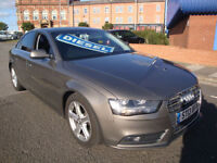 13 AUDI A4 2.0TDIe ( 163ps ) SE TECHNIK /LEATHER/£30 A YEAR ROAD TAX/