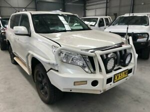 2015 Toyota Landcruiser Prado KDJ150R MY14 Altitude White Pearl 5 Speed Sports Automatic Wagon Boolaroo Lake Macquarie Area Preview