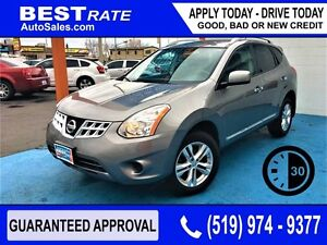 NISSAN ROGUE SV - APPROVED IN 30 MINUTES! - ANY CREDIT LOANS