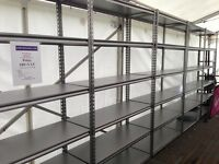 10 Bays Garage/ Shed / Office / Storeroom Shelving 2130x1220x457mm Heavy Duty