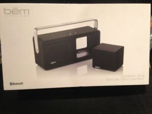 Bem HL2506B Duo Bluetooth Dynamic Stereo Speakers   - NEW