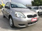 2003 Toyota Echo NCP10R MY03 Grey 5 Speed Manual Hatchback Maidstone Maribyrnong Area Preview