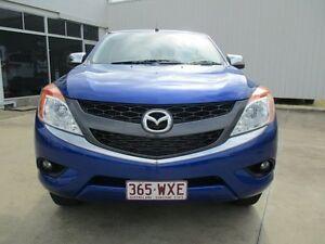 2014 Mazda BT-50 Blue Auto Seq Sportshift Ayr Burdekin Area Preview