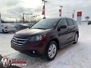 2012 Honda CR-V EX-L AWD- Leather, Sunroof!