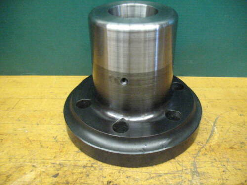 ATS CNC LATHE COLLET CHUCK A2-6 MOUNT 3J COLLET W/DRAW TUBE ADAPTER COLLET NOSE