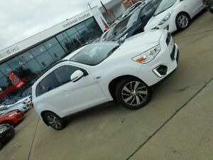 2014 Mitsubishi ASX XB MY14 (2WD) White Continuous Variable Wagon Greenway Tuggeranong Preview