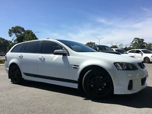 2012 Holden Commodore VE II MY12 SV6 White 6 Speed Automatic Sportswagon Beckenham Gosnells Area Preview