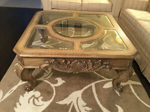 COFFEE TABLE WITH A SIDE TABLE (EXCELLENT CONDITION) Oakville / Halton Region Toronto (GTA) image 1