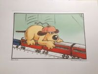 """Collectable PRINT from """"The Wrong Trousers"""""""