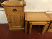 New Canterbury Oak just arrived from £129 Nest, TV unit, tables Sideboards OPEN SUNDAY 1-3 pm