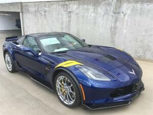 2017 Chevrolet Corvette Grand Sport 3LT blue 7 speed manual