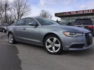 2013 Audi A6 2.0T|Navigation|AWD|Moon Rood|leather|Heated seat